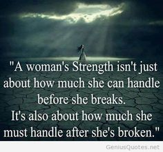 quote woman strength - Google Search