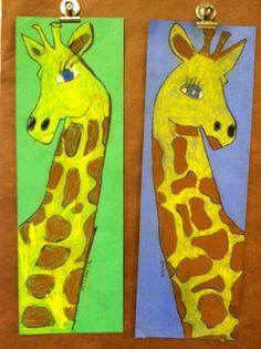1st grade giraffe