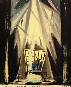 """Der Sohn"". 1919. Diseños: Otto Reigbert"