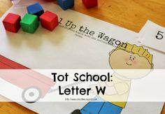 Tot School: Letter W {Activities  Printables}