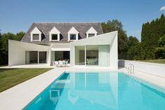 House LS, Wemmel, 2011 - dmvA Architects