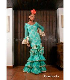 trajes de flamenca 2016 - - Fantasia