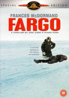 """How is this movie so good.....simple yet """"Classic"""" Los Oscar, See Movie, Movies Worth Watching, Great Films, Music Tv, Fargo 1996, Fargo Film, Steve Buscemi, Coen Brothers"""