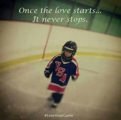 Roberts feet were in a pair of skates at 4 & that's where they were any chance he got until he left this earth.   He loved sports but hockey was his first love. I know he's grinning from ear to ear The Wild is in the play offs!