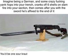 """40 Knowledge-Dropping History Memes For The Scholars - Funny memes that """"GET IT"""" and want you to too. Get the latest funniest memes and keep up what is going on in the meme-o-sphere. Military Jokes, Army Humor, Gun Humor, Military Brat, Humor Humour, Funny Images, Funny Pictures, Reaction Pictures, History Jokes"""