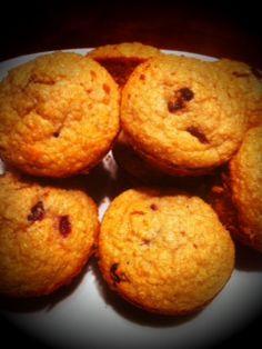 Cinnamon Cranberry Protein Muffins