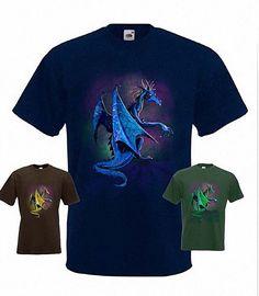 Dragon Fantasy T-Shirt in any size | eBay