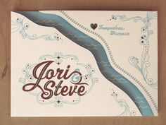Someone who had these amazing save the dates lives within 60min of me? Puhh-lease. No way!