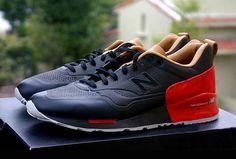 1500 (Seamless) - Black/Red/Beige