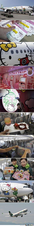 It is a Hello Kitty world