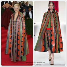 Maggie Gyllenhaal spot in Valentino Fall 2014 @ MET gala in NYC May 5, 2014