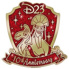 D23 Membership Exclusive 10th Anniversary The Emperor's New Groove Pin