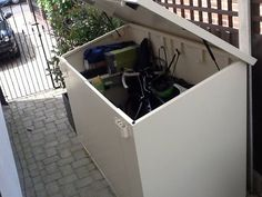 "Another satisfied customer. Thanks for the photo of your Bike Storage x 4 unit Jonathan.  ""I'm delighted with my bike shed (my wife even more so as my bike has now moved from our hall) - extremely high quality and a fantastic level of security. The shed is pretty simple to assemble - and as others have posted you will need an electric screwdriver and an extra pair of hands for some elements."" - http://ift.tt/1HQJd81"