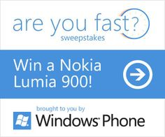 Enter To Win 1 Of 9 Free Nokia Lumia 900 Windows Phones From Microsoft http://www.samplestuff.com/2012/07/enter-to-win-1-of-9-free-nokia-lumia-900-windows-phones-from-microsoft/