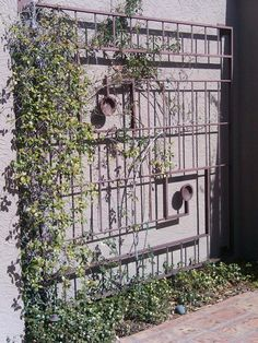 12 foot by 12 foot. Rebar And metal channel Trellis By John Diaz. Made.14 years ago