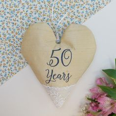 Silk Anniversary Heart by Tuppenny House Designs, the perfect gift for Explore more unique gifts in our curated marketplace. Silver Anniversary, Wedding Anniversary Gifts, Gold Silk, Newlyweds, Lace Trim, Personalized Gifts, Unique Gifts, Bridesmaid, Heart