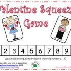 These adorable Valentine Kids will help your students practice recognizing, comparing and ordering numbers 1-30! This is a fun whole group activity...