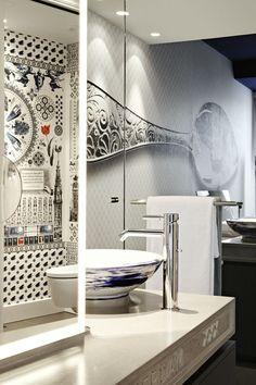 Impressive Bath Bisazza Collection by Marcel Wanders ➤ To see more news about Luxury Bathrooms in the world visit us at http://luxurybathrooms.eu/ #bathroom #interiordesign #marcelwanders @BathroomsLuxury @koket @bocadolobo @delightfulll @brabbu @essentialhomeeu @circudesign @mvalentinabath @luxxu @covethouse_