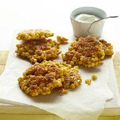 Corn Fritters - Brunch Recipes