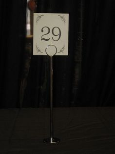 Our 12 inch table number stands include the numbers. Table Number Stands, Table Numbers, Stag And Doe, Fun Fair, Food Service, House Party, Wedding Table Numbers, Table Number Holders, Home Parties