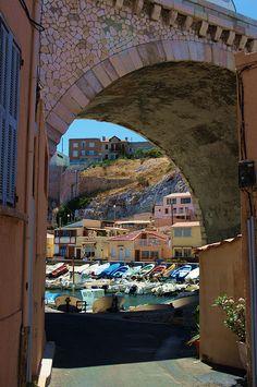 Marseille le Vallon des Auffes