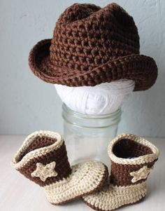 SALE Baby cowboy hat and boot set Western wear photo prop on Etsy, $32.00