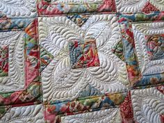 Sue's quilting on this piece makes it sing! See more photos at her blog