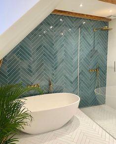 Upstairs Bathrooms, Laundry In Bathroom, Dream Bathrooms, Beautiful Bathrooms, Modern Bathroom, Bathroom Design Inspiration, Bad Inspiration, Home Decor Inspiration, Decor Ideas