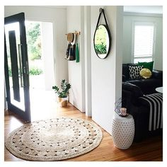 #regram from @househomelove featuring the Kmart round mirror and gold dot pot plant - a gorgeous home entry space! #kmartaddictsunite #kmartstyling #kmartaus #kmart #interior #interiorstyling #interiordecorating #interiordesign #style #styling #decor