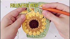 Granny Square Pattern Free, Crochet Squares, Diy Crochet Granny Square, Granny Squares, Crochet Flower Tutorial, Easy Crochet, Knit Crochet, Crochet Motif Patterns, Crochet Designs