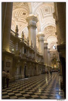 Interior Catedral, Jaen, Spain