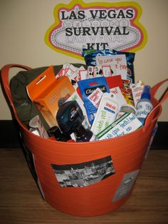 Las Vegas Survival Kit...for the bride to be