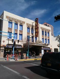 Step into the historic and restored KiMo Theater. The theater blends Art Deco with Pueblo Revival-style architecture and is one of the Duke City's most iconic buildings.