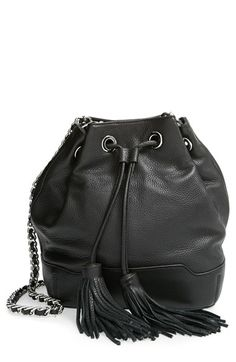 Rebecca Minkoff 'Large Fiona' Bucket Bag with Tassel available at #Nordstrom