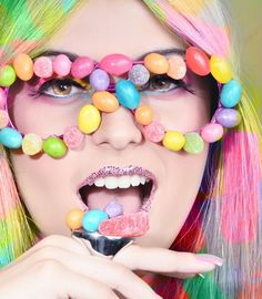 20 Creative Examples of Sweet and Candy Girls