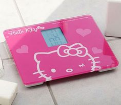 Pink hello kitty scale