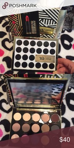 Urban Decay Gwen Stefani Eyeshadow Palette Brand new. Only opened for the photo. 100% authentic. Comes from a smoke and pet free home Urban Decay Makeup Eyeshadow