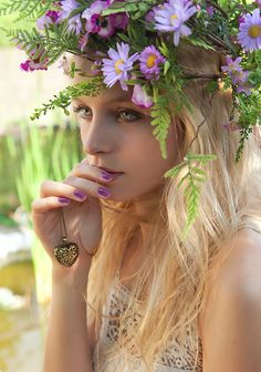 ❤ Beautiful Floral Crown ❤