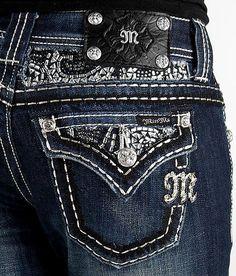 0fd1de87208 NEW Sale Women MISS ME Mid Rise Flap Pocket Easy Boot Stretch Dark Jean 26  X 29