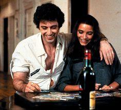 """Al Pacino and Karen Allen in the movie """"Cruising"""" (1980)."""