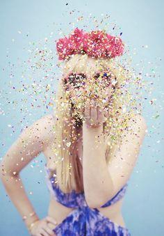 throw some glitter, make it rain :)