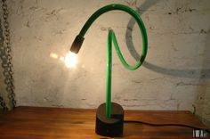 "Lamp called ""Wyrm #1"". Made by IWArt.pl"