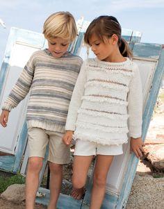 Jersey - Niños - Primavera / Verano - modelos y patrones | KATIA