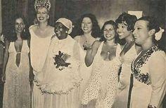 Gal Costa, Elke Maravilha, Clementina de Jesus, Clara Nunes, Fafá de Belém, Eliana Pittman, Elizabeth Cardoso. 1978