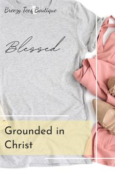 Super soft 100% cotton Bella Canvas 3001 short sleeve crew neck tee shirt. Light fabric, soft double stitched lining. Eco-friendly lining. Comes in 16 colors and 6 sizes XS-2XL. Check it out & don't forget to re-pin! This blessed tee is o so comfy yet light weight & breathable. If you are looking for a cute & simple gift for a girlfriend this is it. The eco-friendly print is very durable & will last. We should always be grateful everyday!#BlessedTee #ChristianGift #ChristmasGiftIdeas… Mom Shirts, T Shirts For Women, Stitch Lines, Etsy Christmas, Simple Gifts, Christian Gifts, Cute Woman, Mom Humor, Bella Canvas