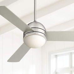 "44"" Casa Vieja Trifecta Brushed Nickel Ceiling Fan - #R5139   Lamps Plus"