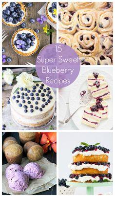 15 Blueberry Recipes