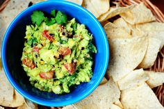 Grilled Corn Guacamole. I eat it by the spoonful!