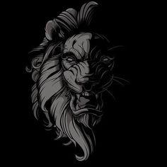 Lion - jared mirabile/sweyda cool в 2019 г. lion art, lion t Tattoo L, Lion Tattoo, Logo Lion, Lion Sketch, Lion Vector, Lion Wallpaper, Lion Pictures, Lion Art, Dark Art