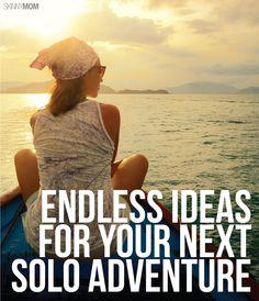 Take a mini adventure...solo.